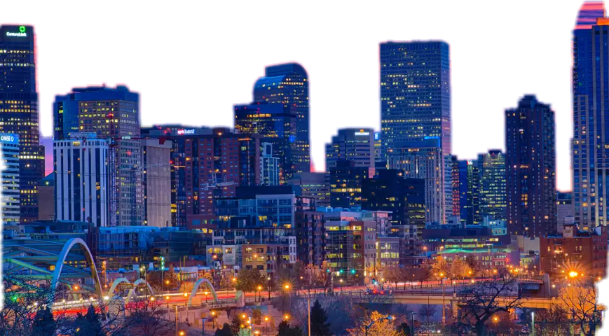 Popular and trending downtown. Cityscape clipart picsart
