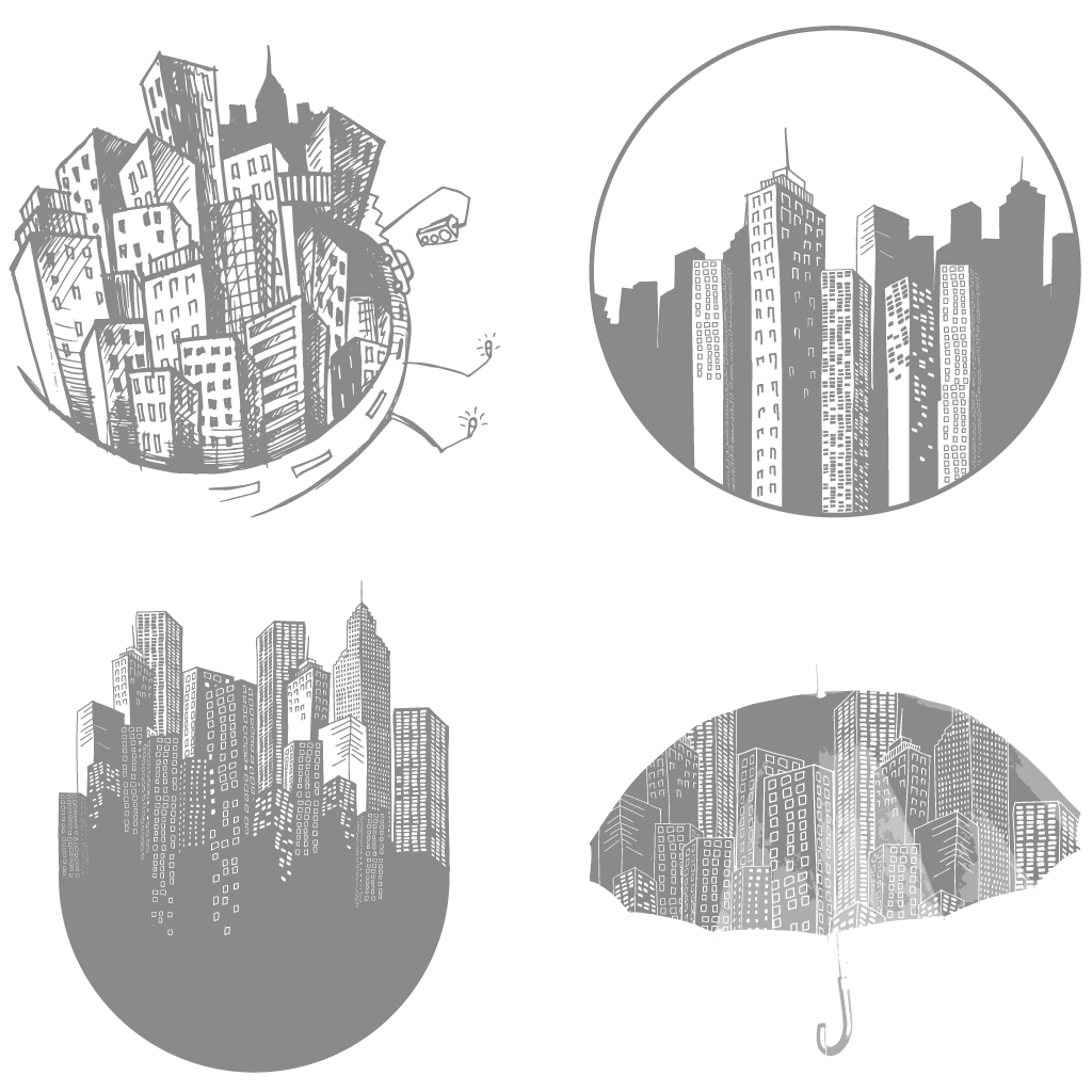 collection of high. Cityscape clipart picsart