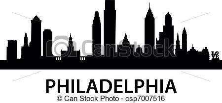 Cityscape clipart skyline philadelphia. Outline print google search