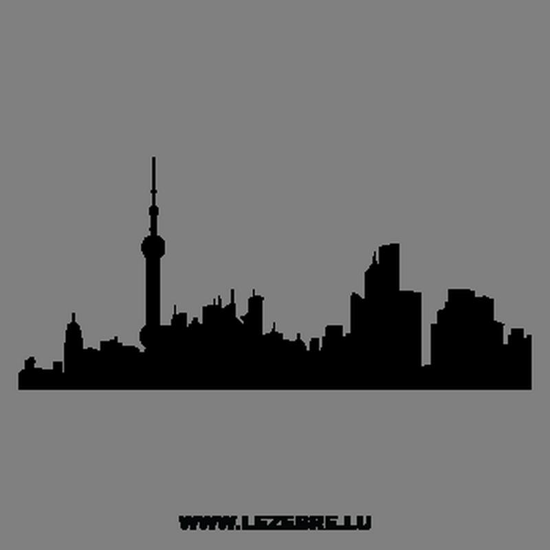 Cityscape skyline shanghai