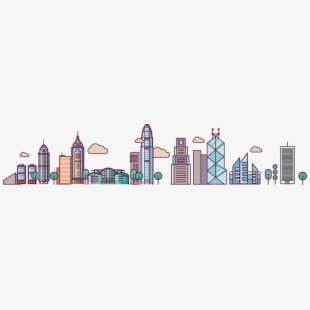 Free cliparts silhouettes cartoons. Cityscape clipart urban community