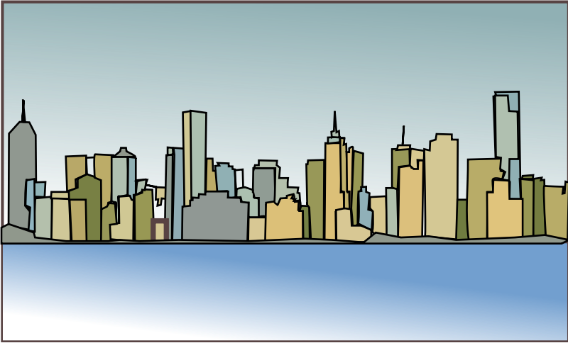 November the lafayette city. Cityscape clipart urban development