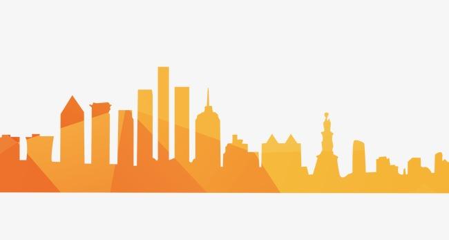 Cityscape clipart. City glimpse png image