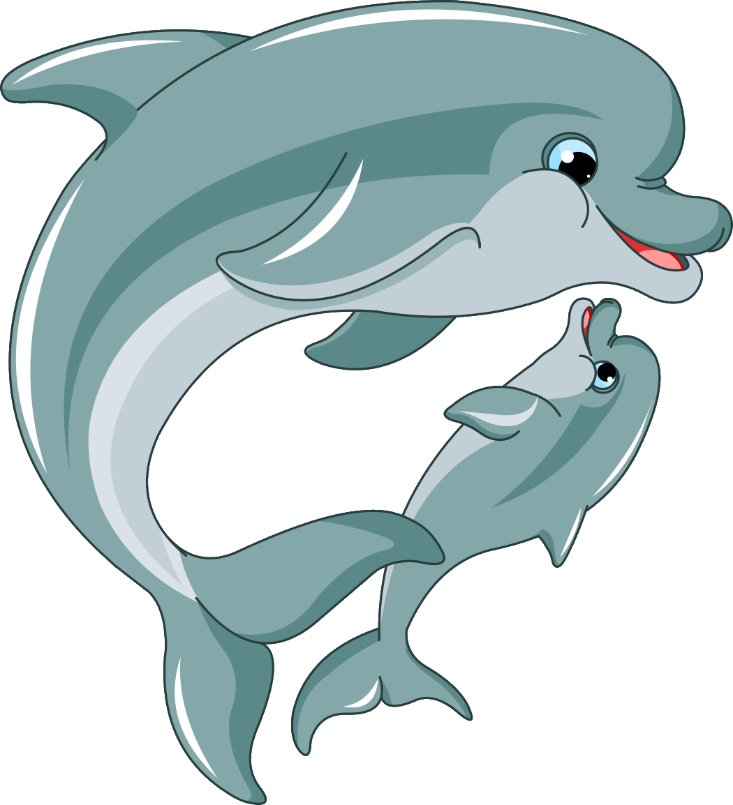Pin by valentina on. Dolphin clipart kid