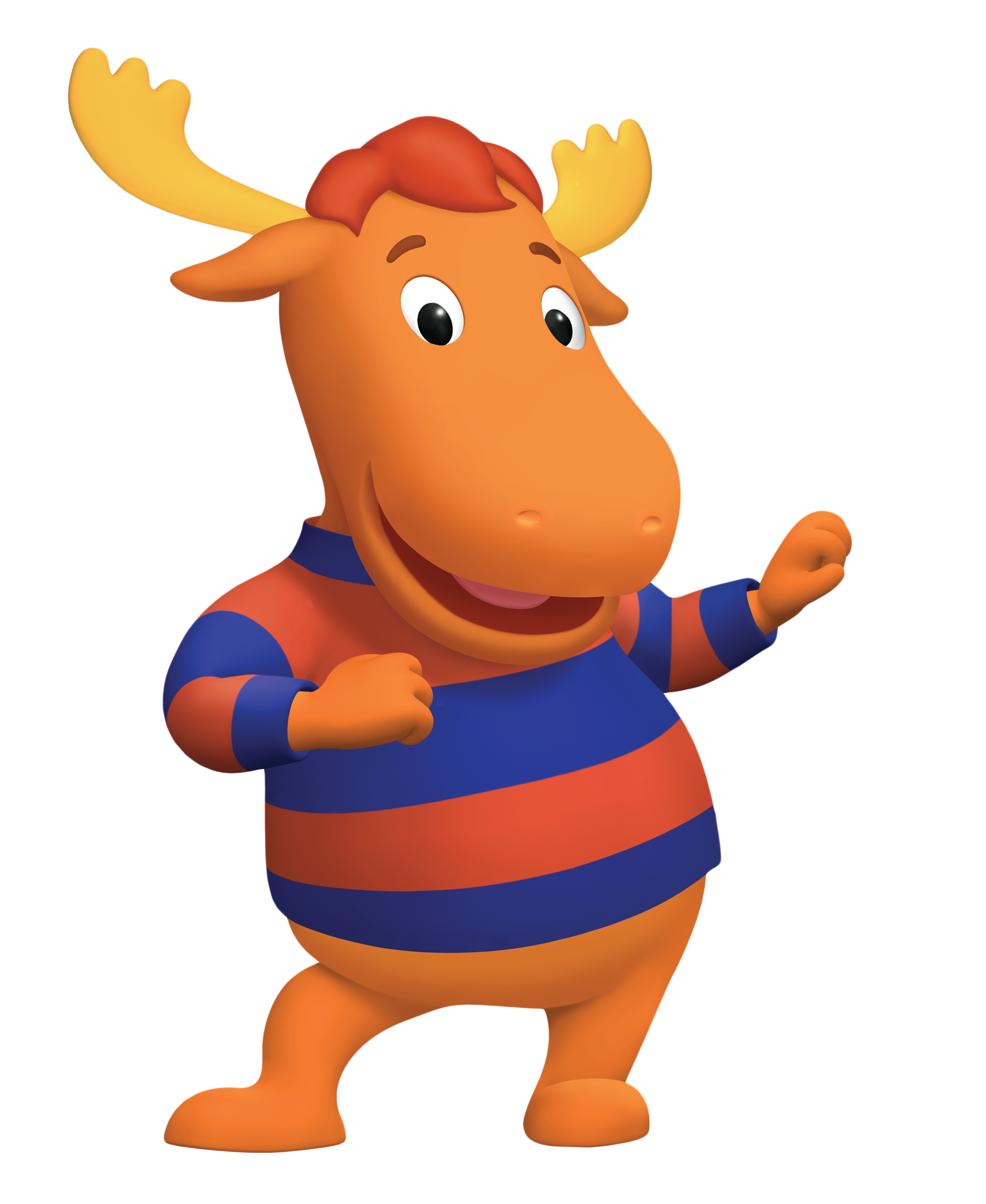 Moose clipart girl moose. Tyrone the backyardigans wiki