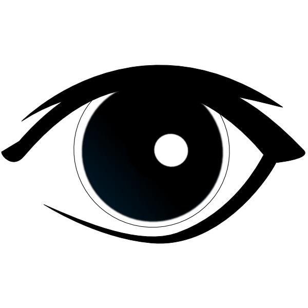 Eye clip art at. Clipart man eyes