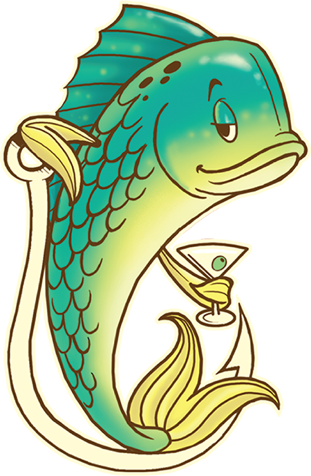 Clipart fish dinner. Off the hook