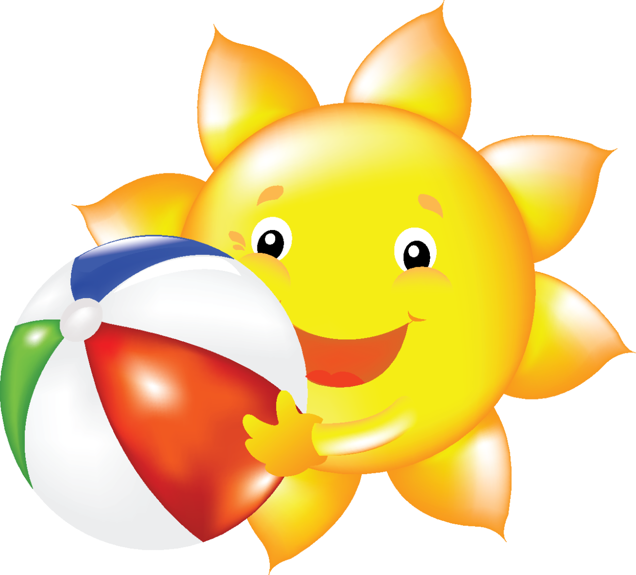 Clipart smile hope. Summer sun clip art