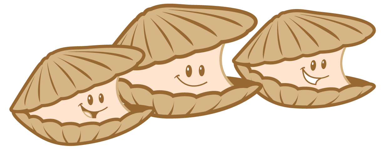 Clams happy clam pencil. Florida clipart cartoon