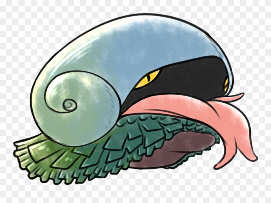 Clam clipart limpet. Scaly foot gastropod pokemon