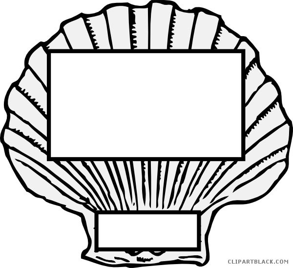 Conch silhouette at getdrawings. Shell clipart clam sketch