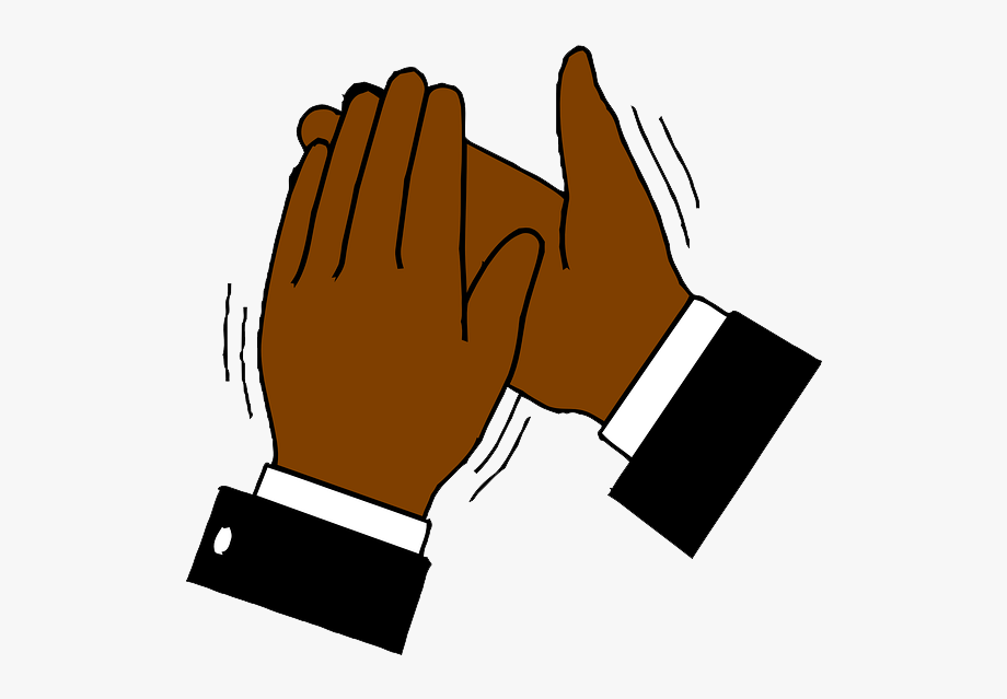 Free download clapping hands. Applause clipart animation