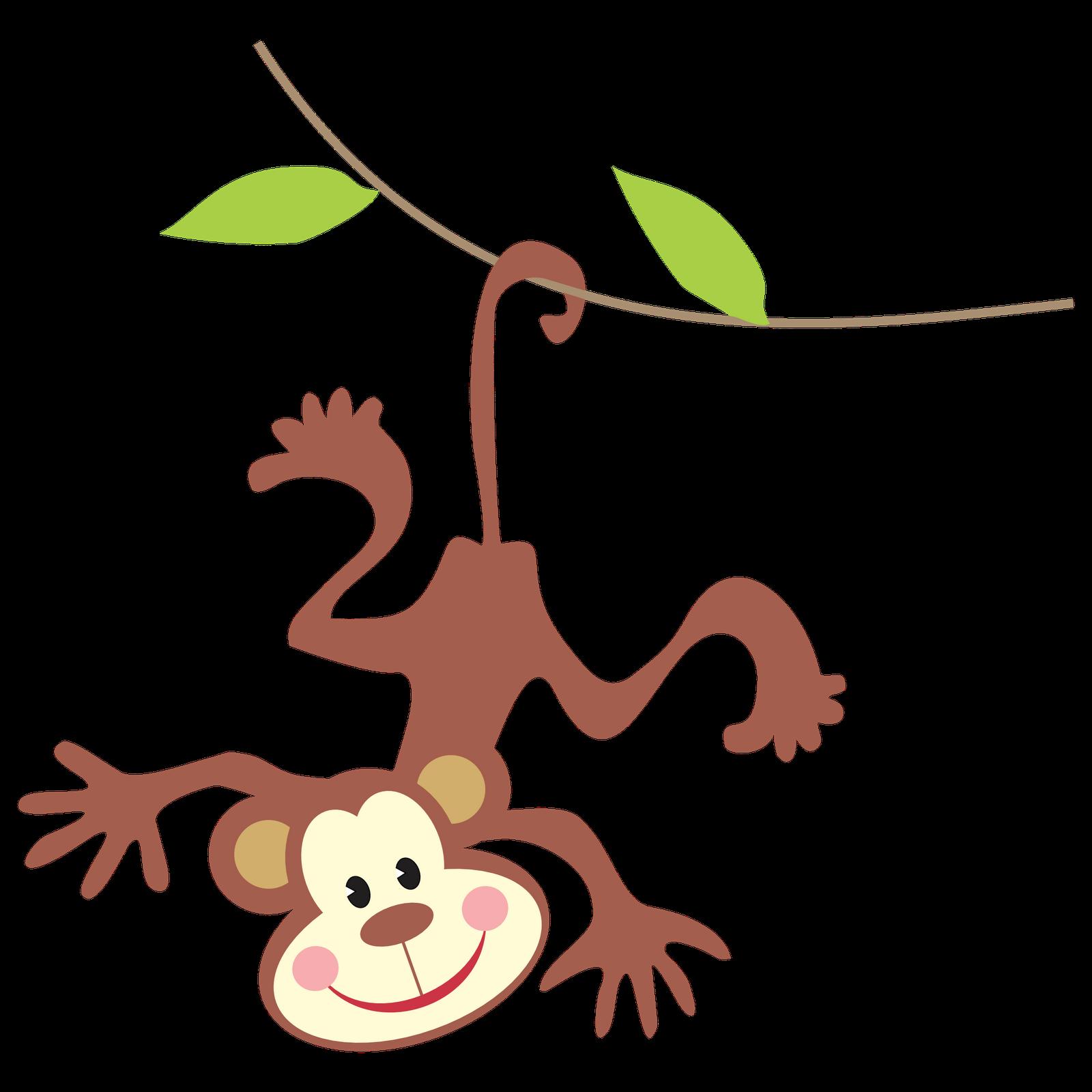 monkey clipart cheeky monkey