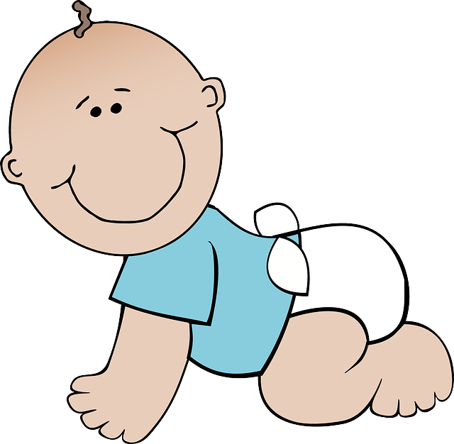Free image on pixabay. Infant clipart baby shower baby