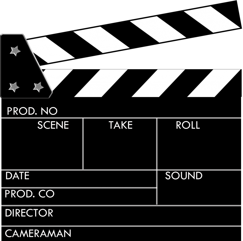 Featured book trailers best. Movie clipart board