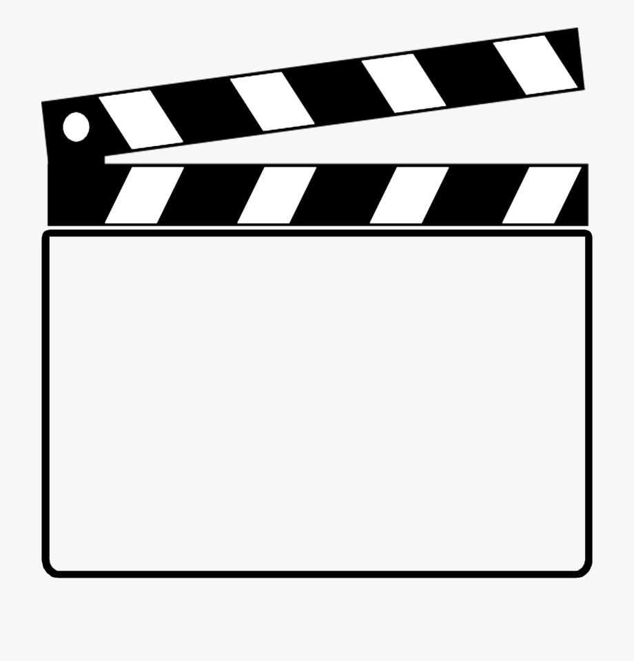 Movie clipart clap. Movies clapper free
