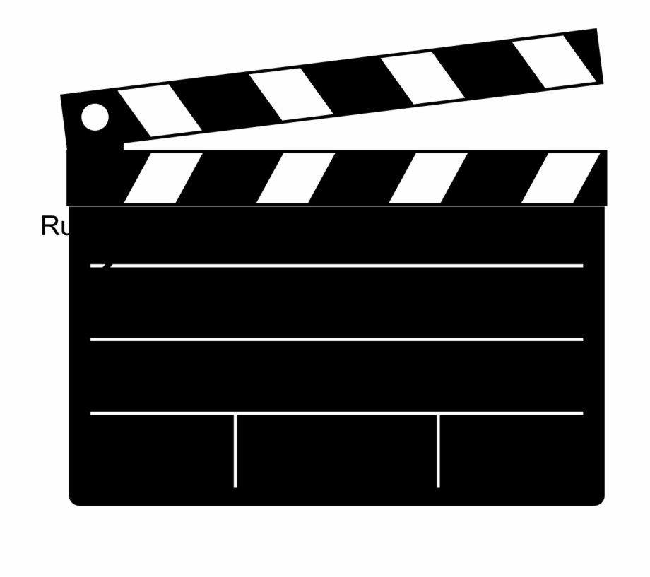 Film clipart clap. Clipboard movie blank png