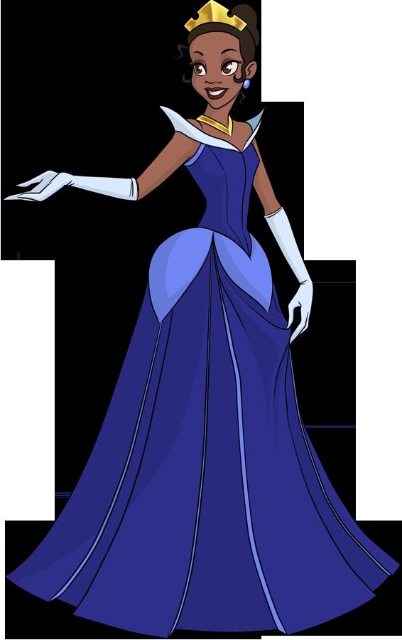 Princess by pyrogina on. Disney clipart tiana
