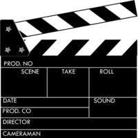 Clapboard template quantumgaming co. Movie clipart movie clapper