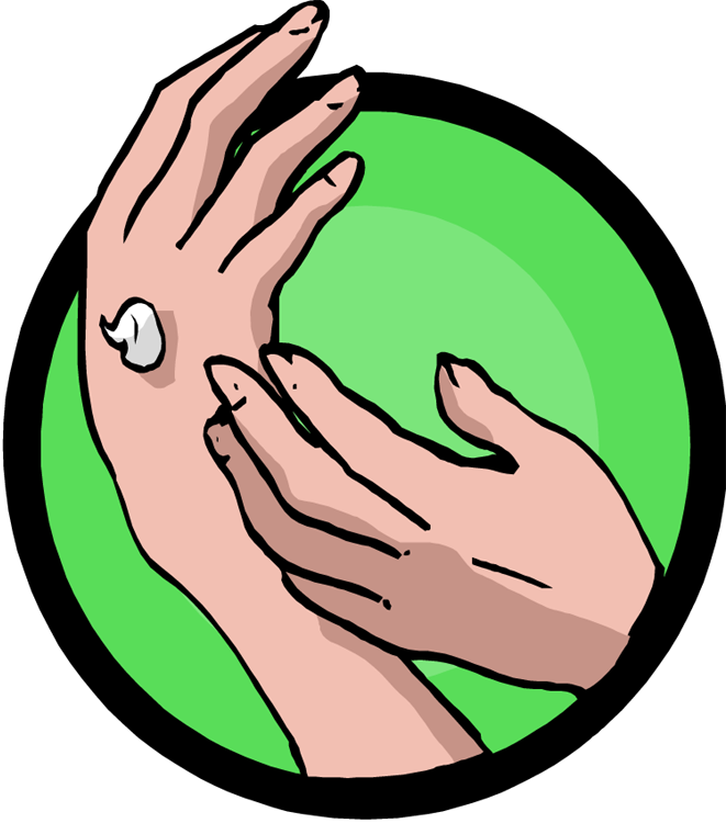Animated laughing hysterically massage. Thumb clipart certainly