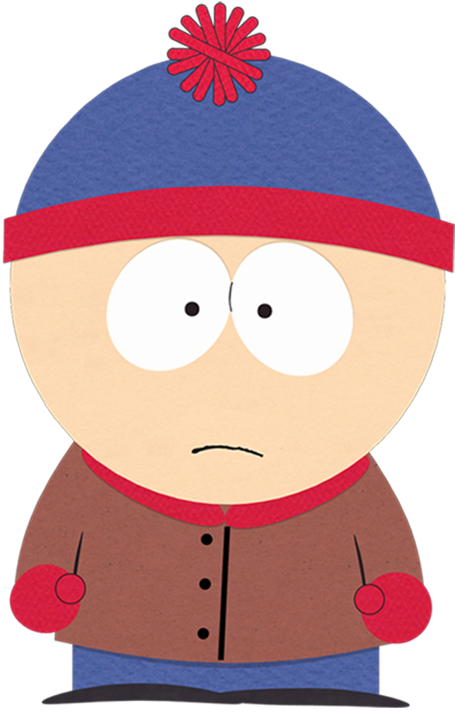 Conflict clipart protagonist. Stan marsh south park