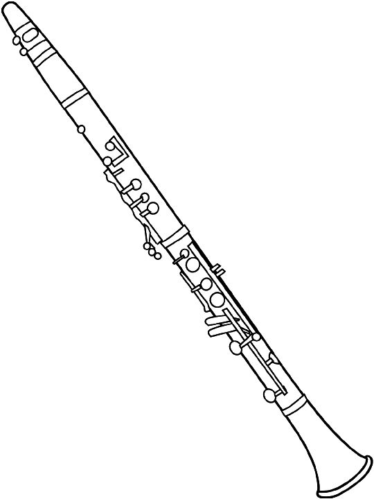 Clip art band pinterest. Clarinet clipart