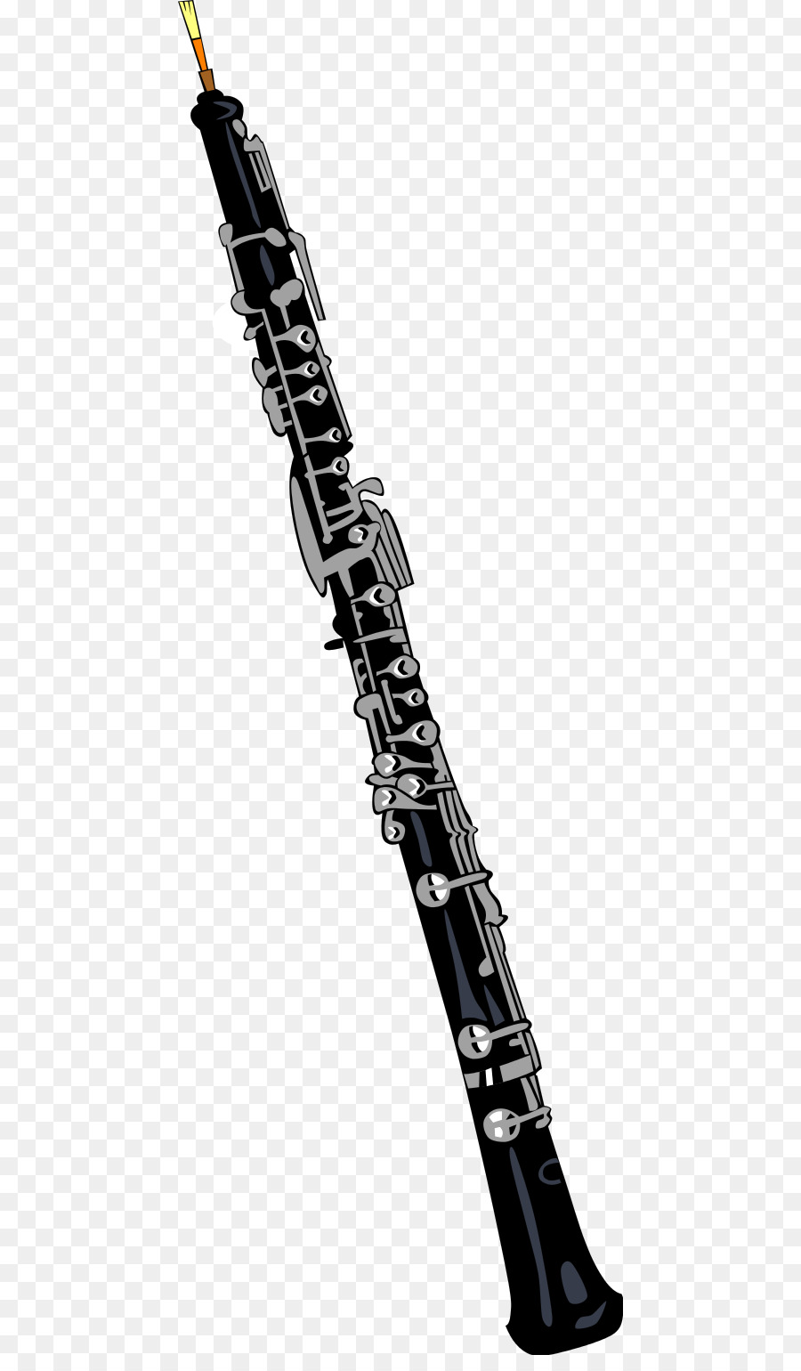 Oboe musical instruments clip. Clarinet clipart