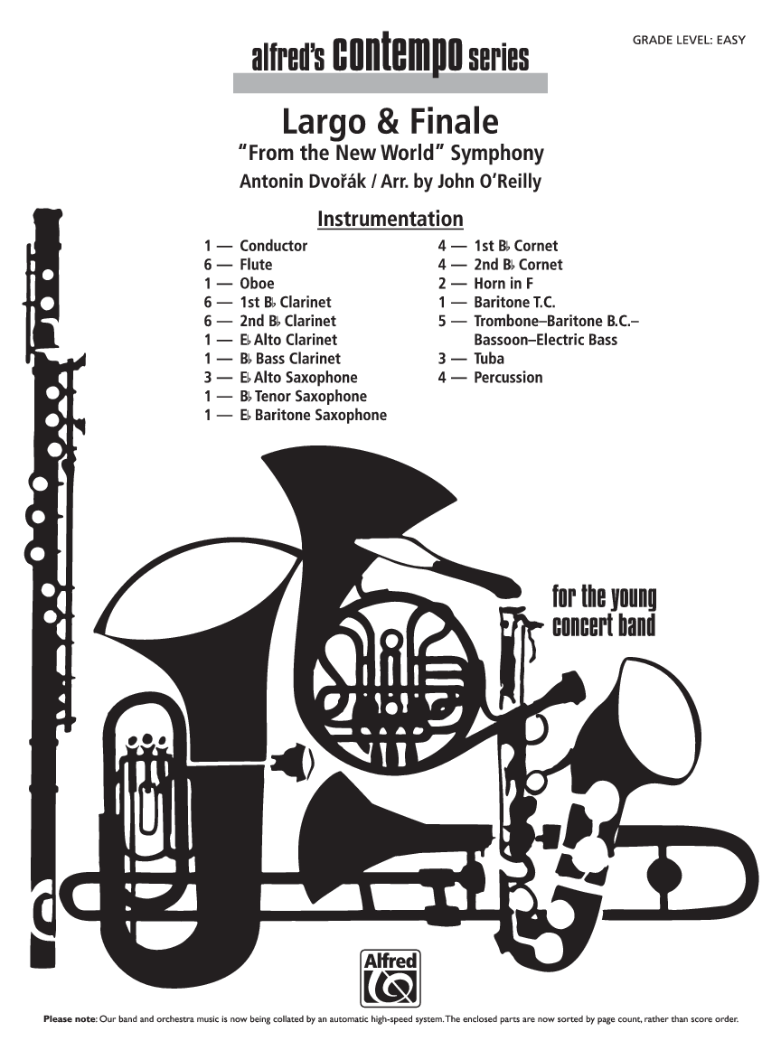 Largo and finale new. Clarinet clipart bassoon