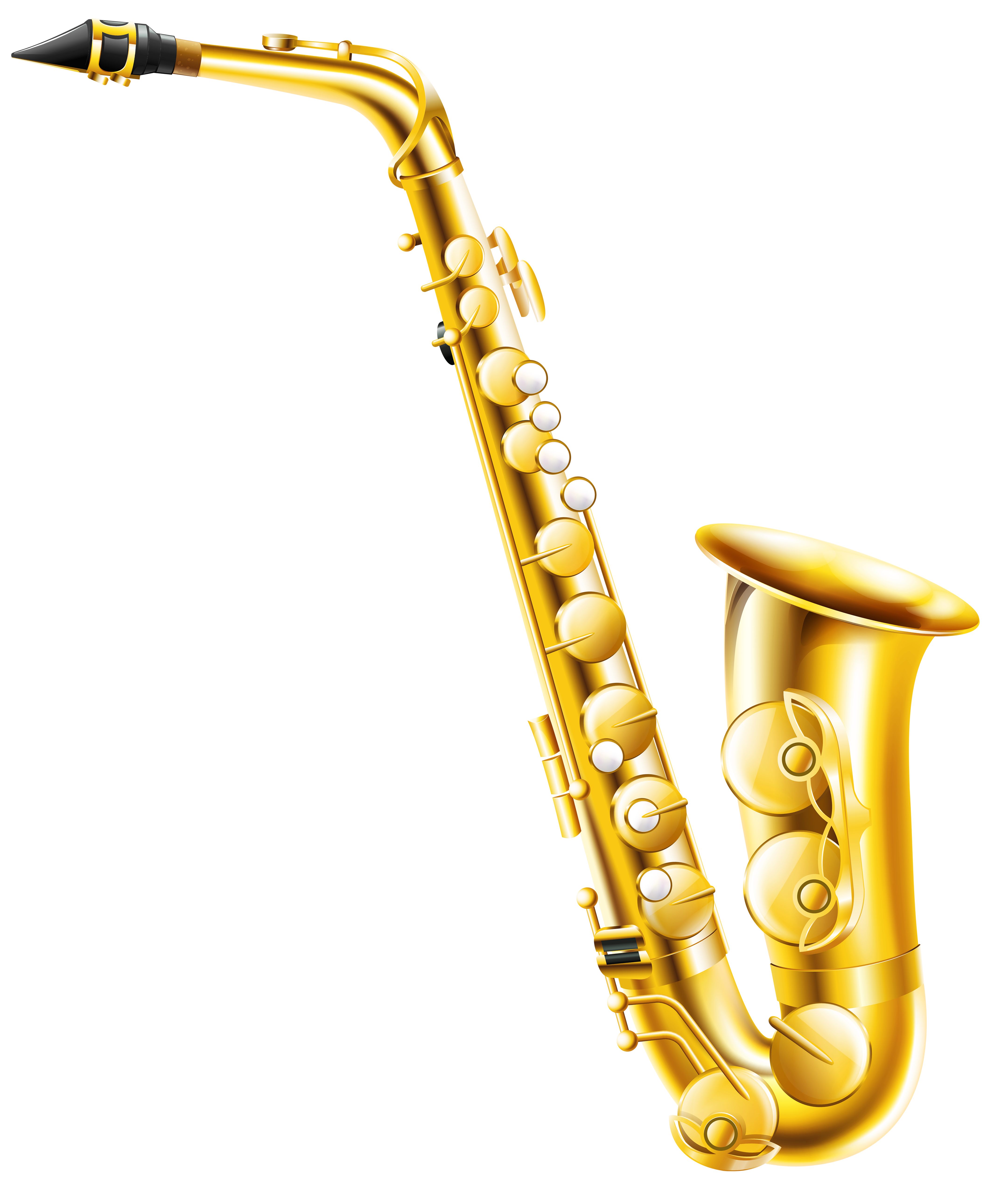 Transparent saxophone png gallery. Clarinet clipart cartoon