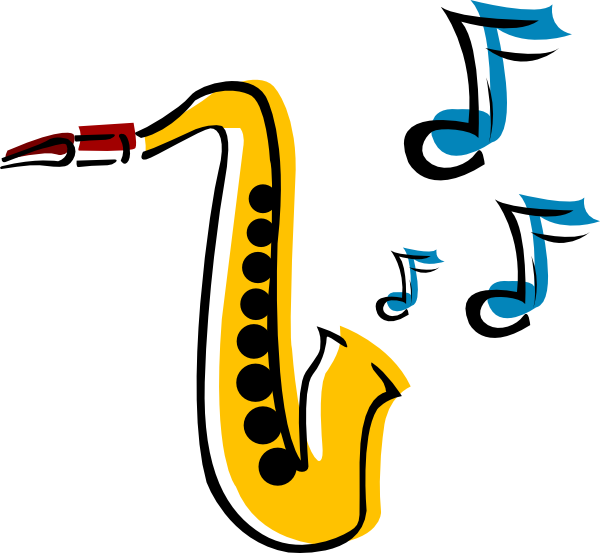 Jazz clipart jazz age. Saxophone clip art pictures