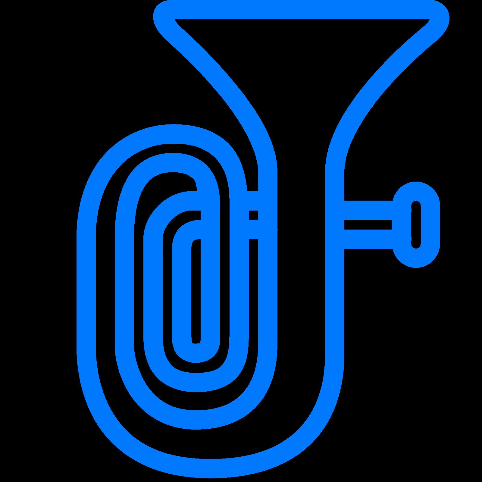 Tuba drawing sousaphone music. Clarinet clipart drawn