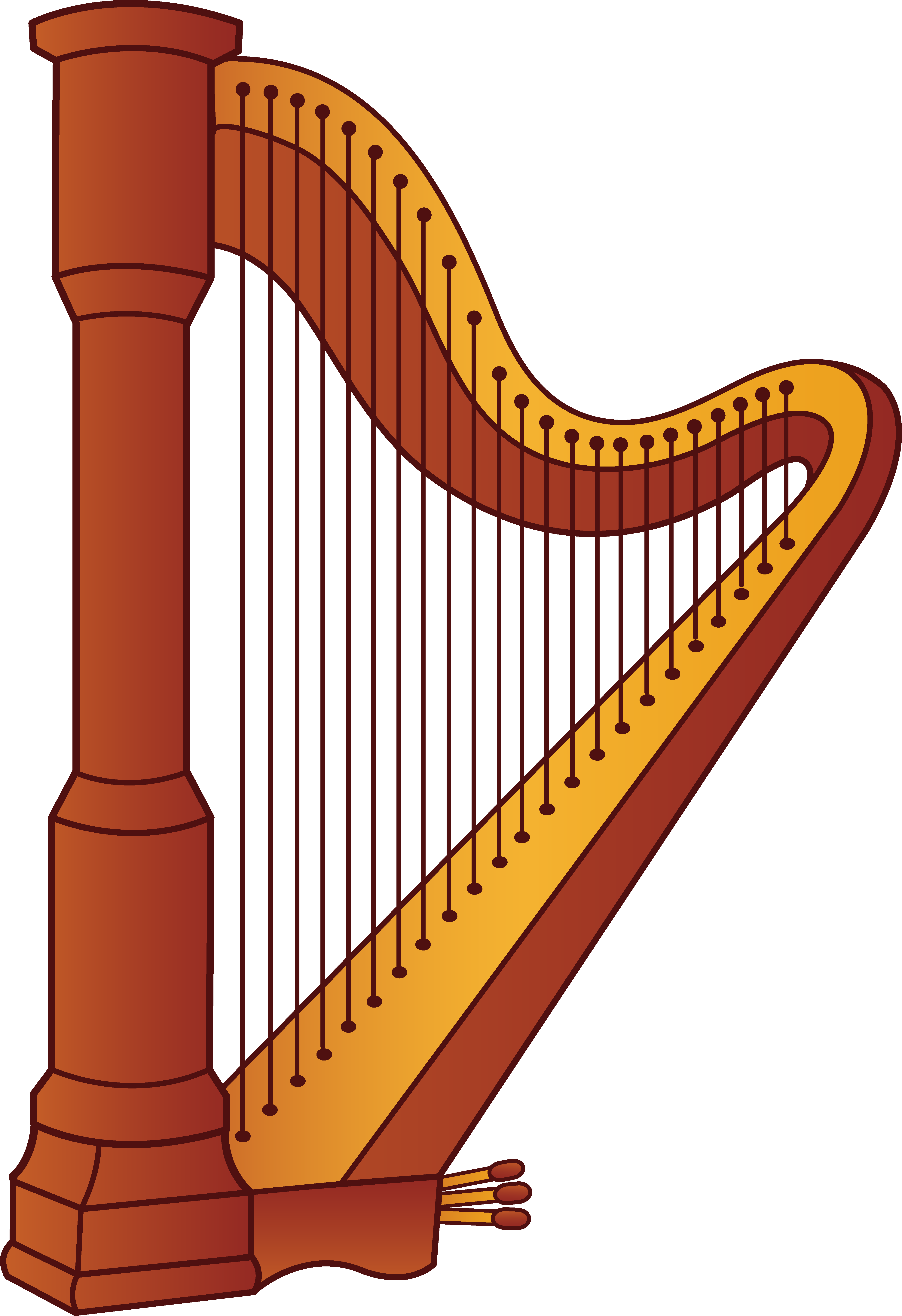 collection of instrument. Holidays clipart music