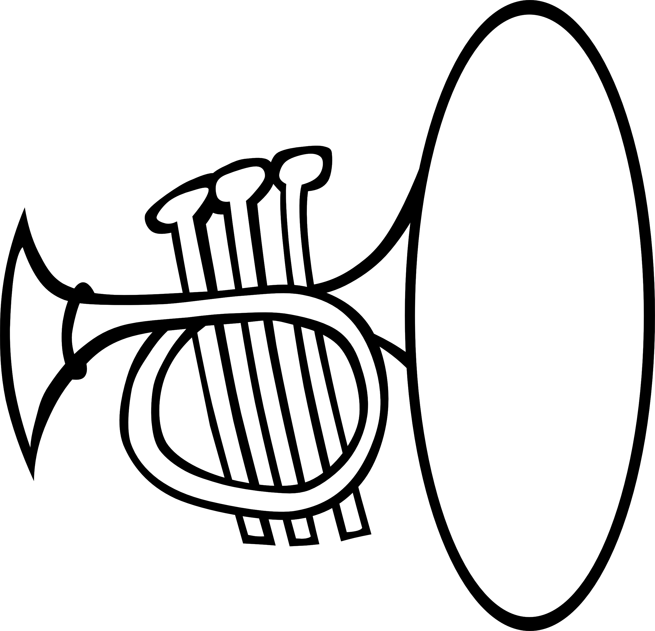 Clarinet clipart instrumentong.  collection of triangle