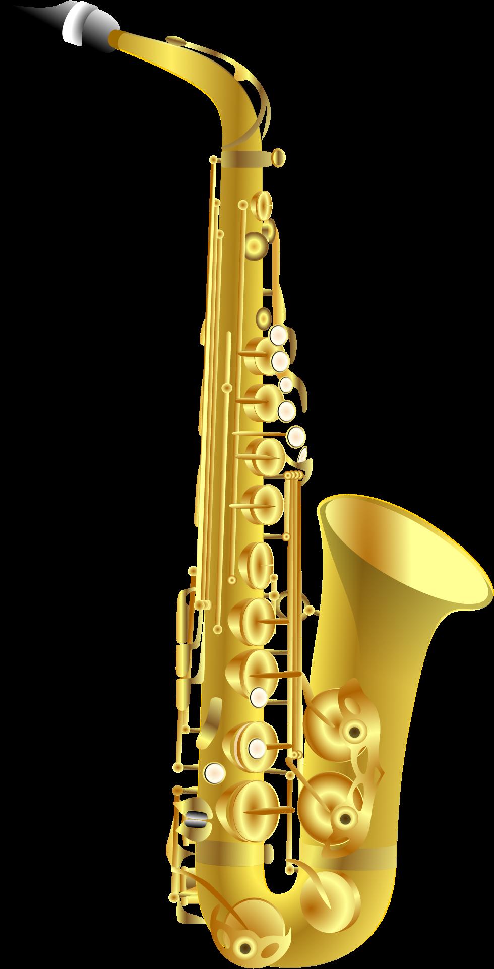 Clarinet clipart saxophone.
