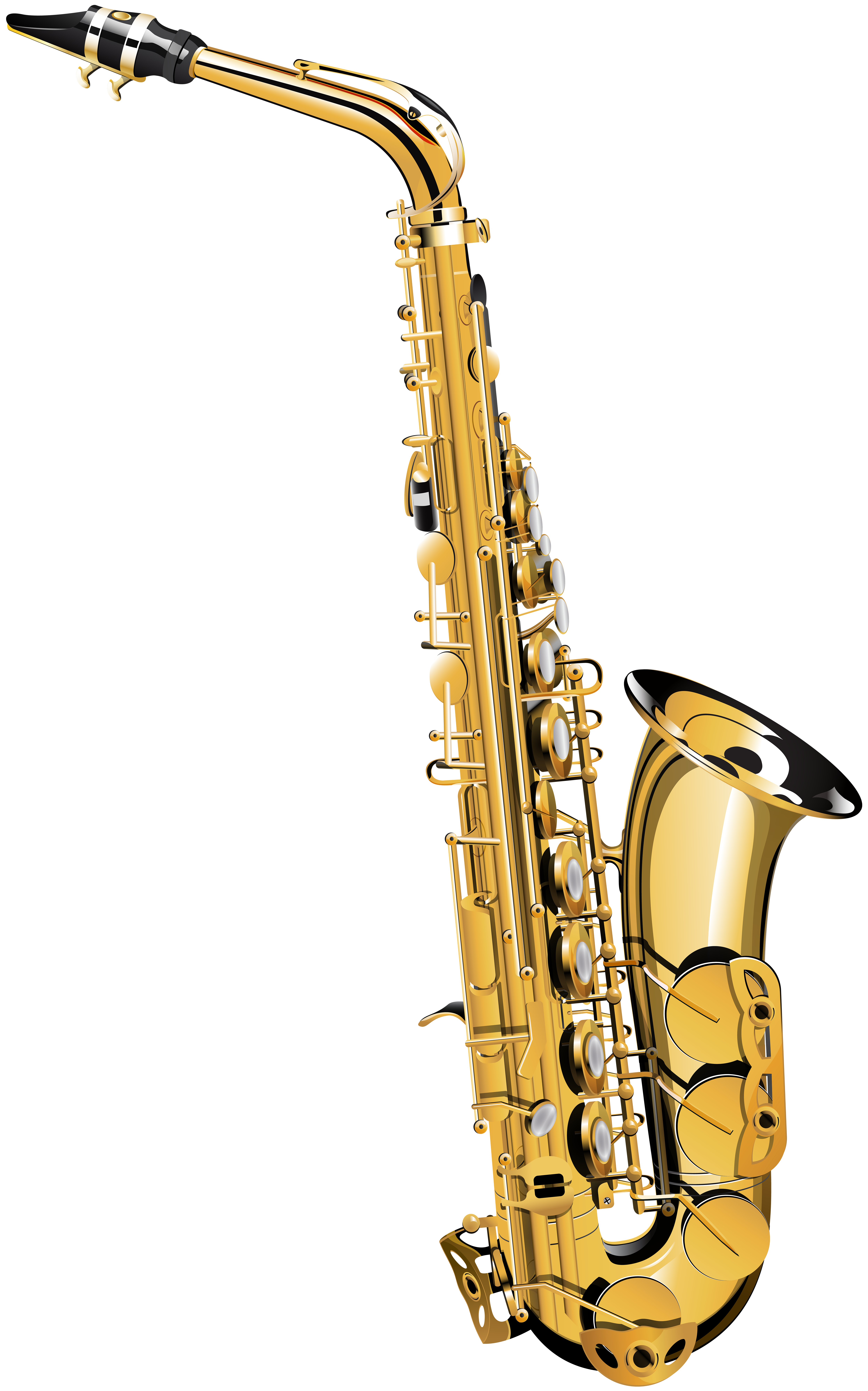Clarinet clipart saxophone. Transparent png image gallery
