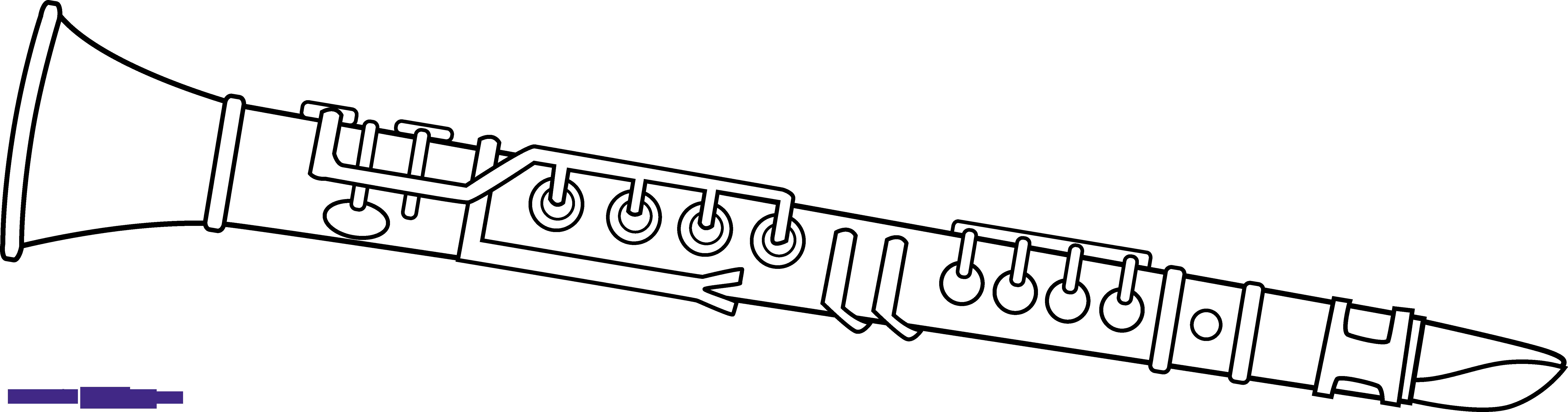 Cute frames illustrations hd. Clarinet clipart sketch