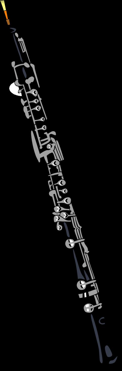 Flutes clipart oboe. Free download clip art