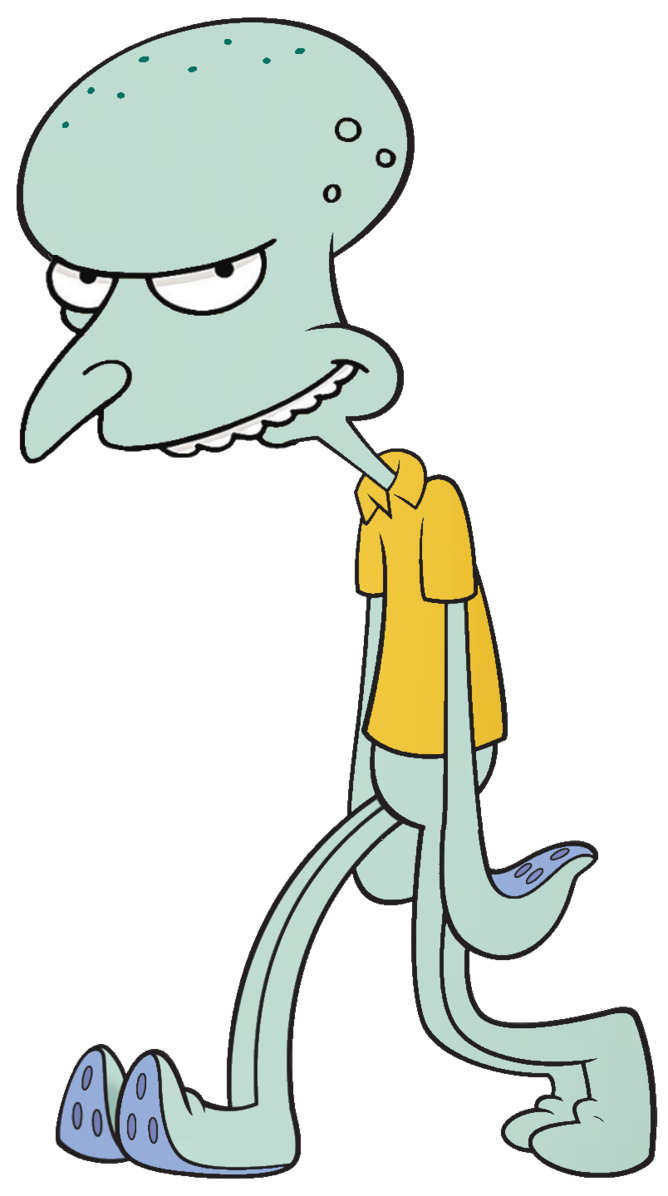 Squidcharles montgomery tentacles by. Clarinet clipart squid