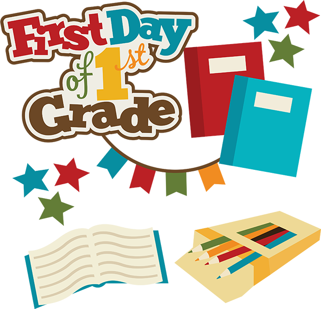Proud clipart 5th grader. First day of st