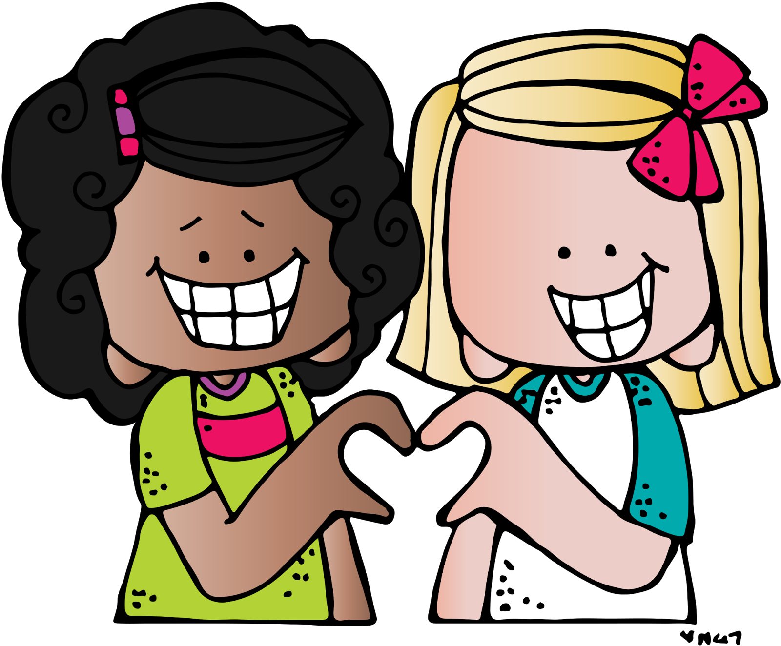 My heart is heavy. Friendship clipart peer group