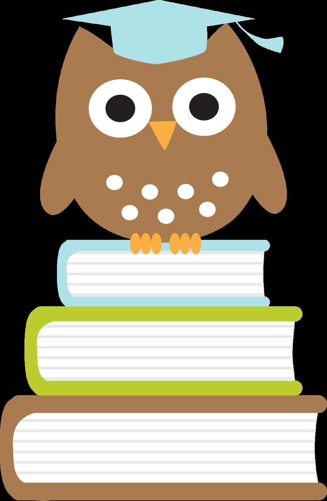 Para imprimir graduados b. Clipart winter owl