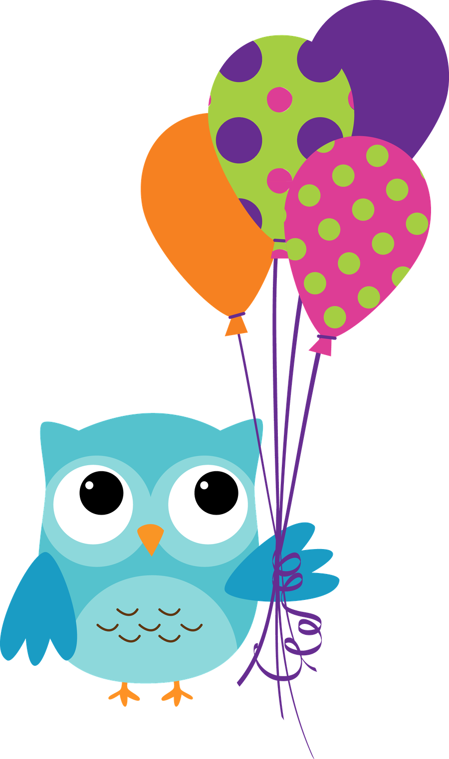 Clipart cupcake owl. Corujas minus already sectioned
