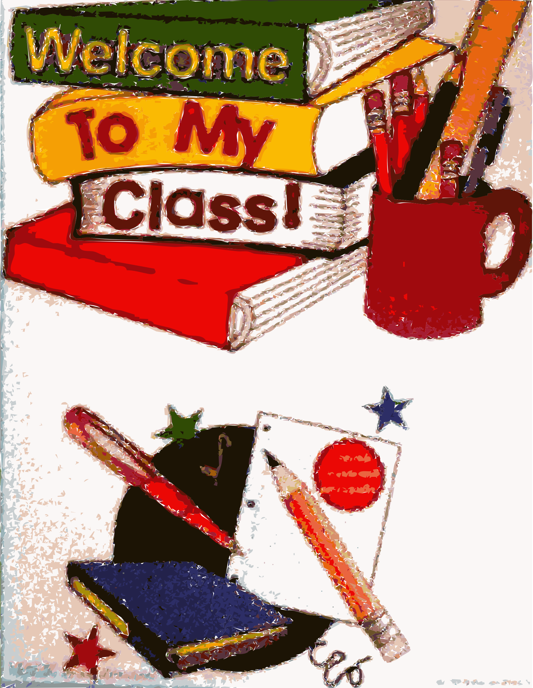 To my class material. Clipart math classroom