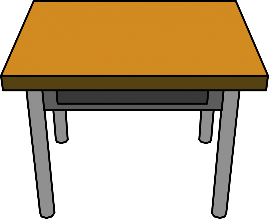 Excellent classroom table of. Furniture clipart household supply