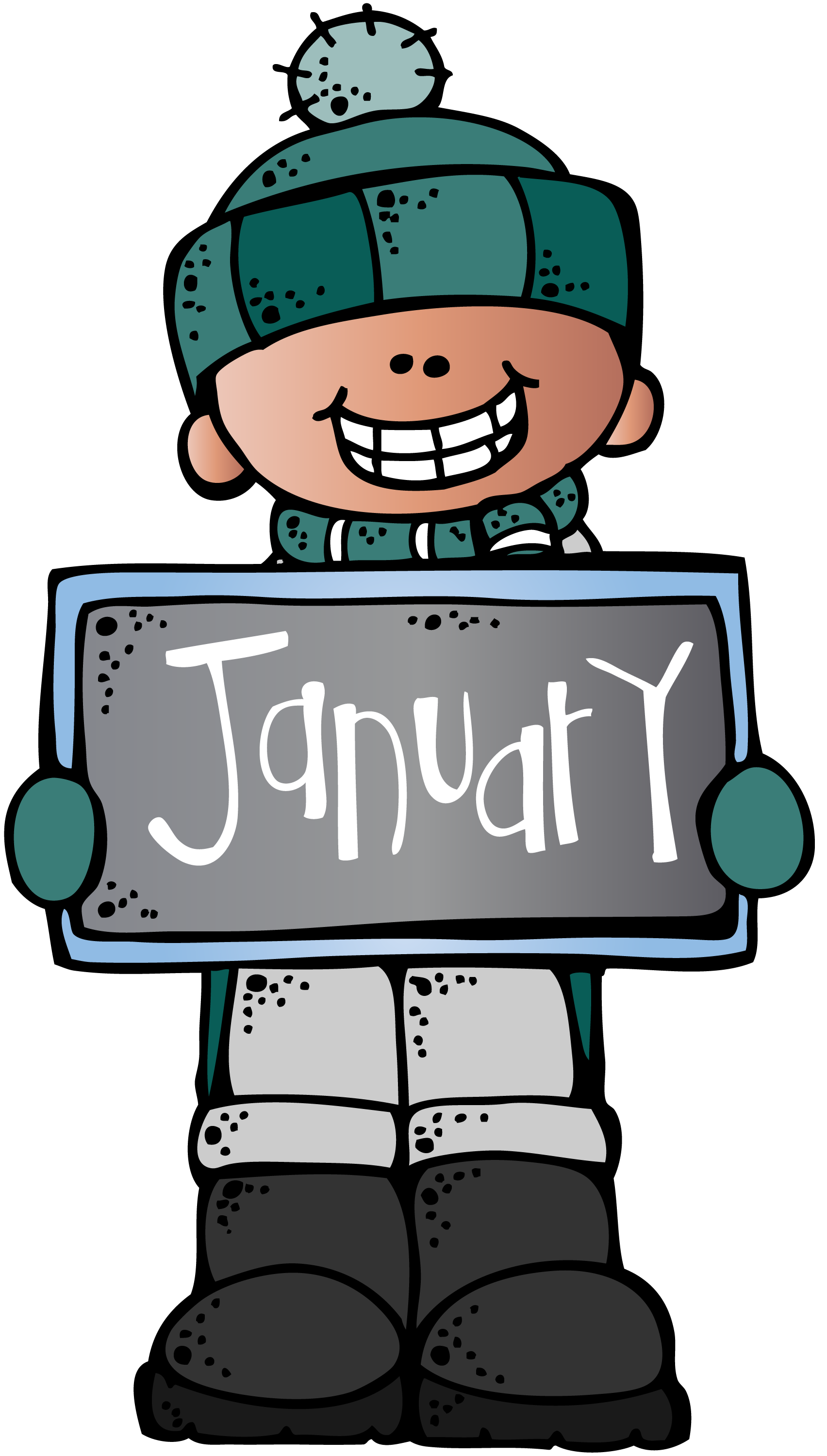 Clipart birthday january. Mkb c melonheadz illustrating