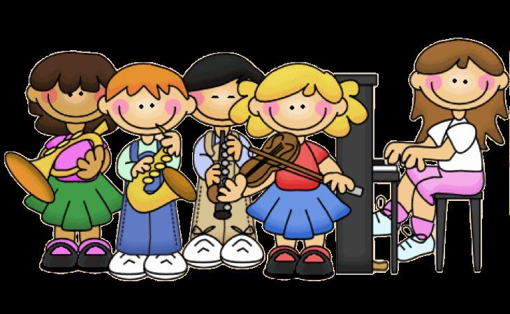 Kindergarten clipart performance. Music class jokingart com