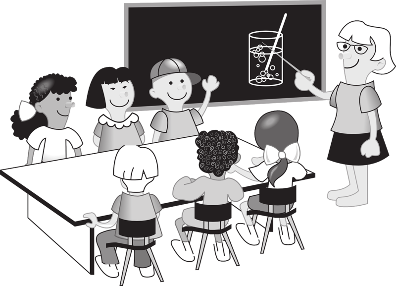Proportions and scale drawings. Classroom clipart college classroom
