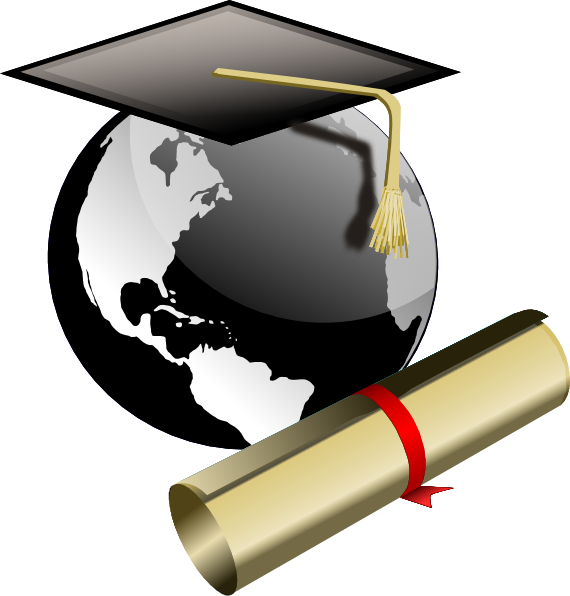 Oakland adult and career. Graduate clipart logo