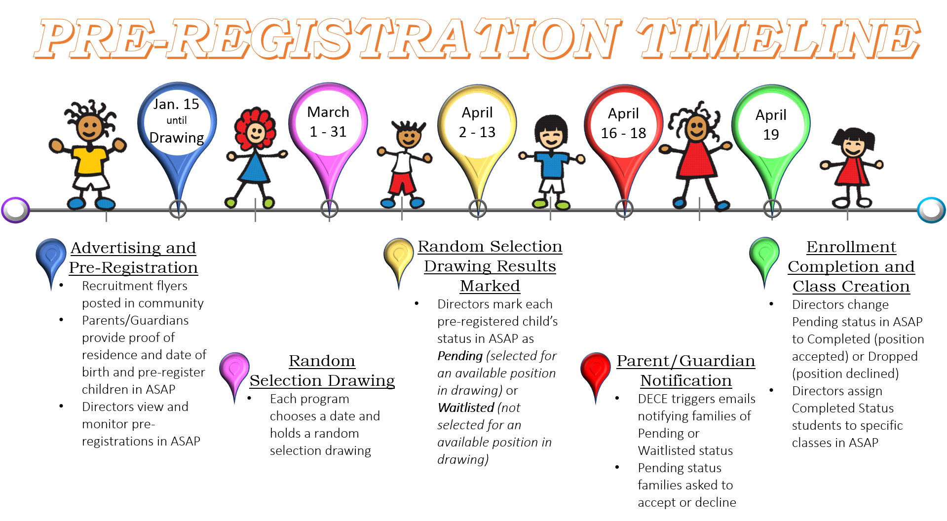 English clipart class monitor. Pre registration for first