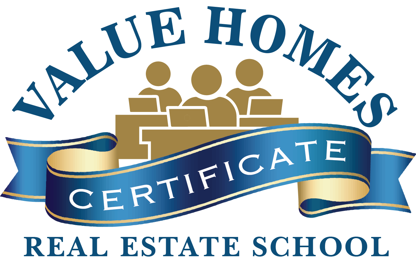 Value homes real estate. Textbook clipart course